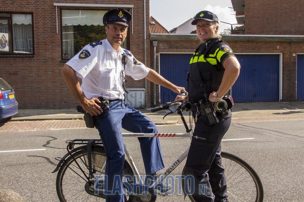 Oude uniform politie