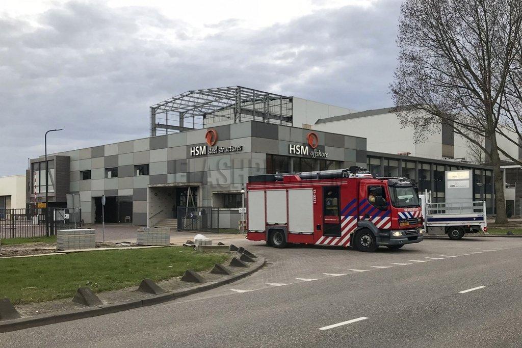 Brand bij HSM Steel Structures Westfrankelandsedijk ...